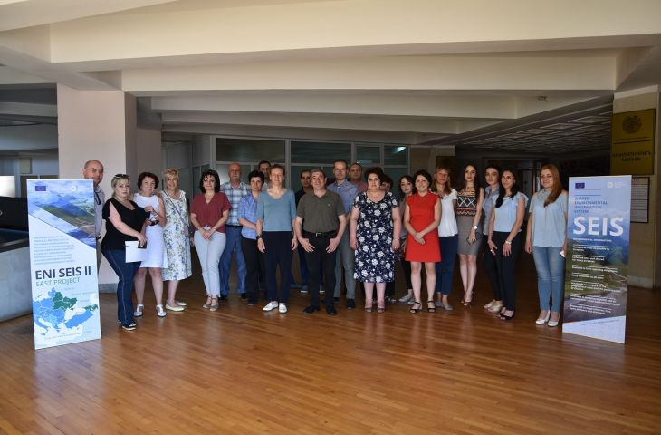 Workshops on water data processing and assessment held in Baku, Tbilisi, and Yerevan
