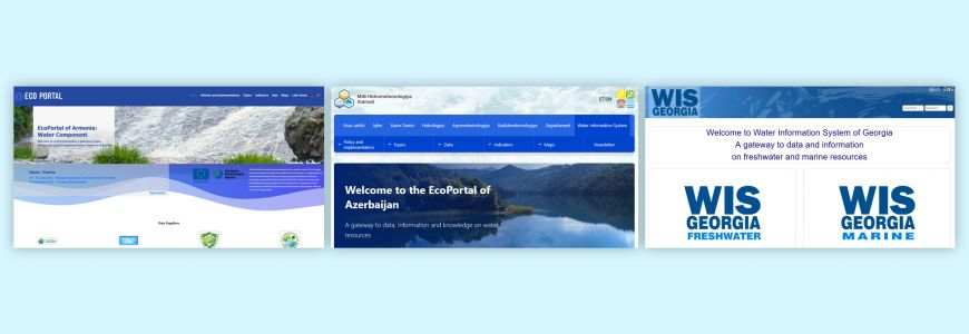 Water information systems for the Caucasus